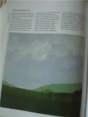 """Art practice: """"Blue Sky, Green Fields"""""""