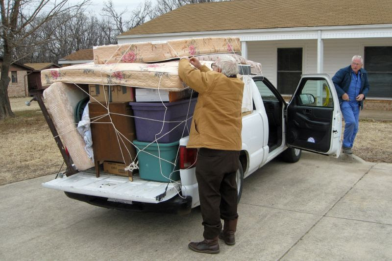 Neal Unloading