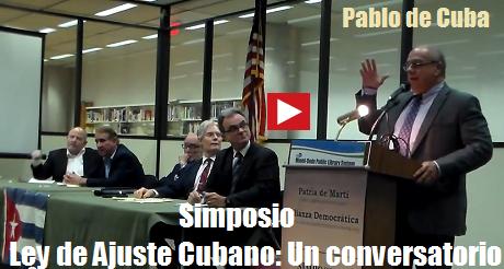 ley de ajuste cubano pablo de cuba