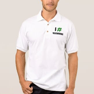 I # PASSWORDS (2 Line) - Men's Polo Shirt