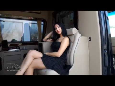 Bursa, Türkiye'de Trimo tarafından şoförlü lüks bir VIP Van'a dönüştürülür