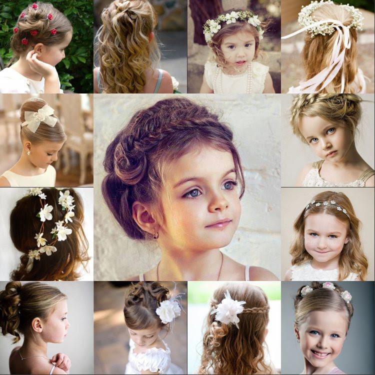 Süße Frisuren Für Ihre Blumenmädchen Kleider Haus