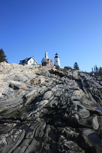 Pemaquid Point Lighthouse - The Maine State Quarter