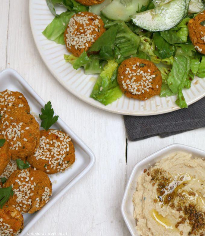 Süßkartoffel-Falafel | whatinaloves.com