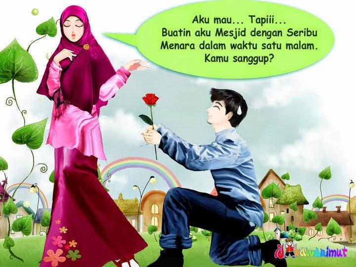 Gambar Anime Muslimah Romantis Nusagates