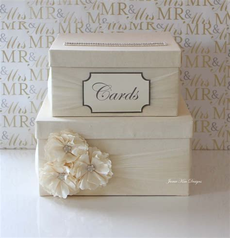 Wedding Card Box Money Box Custom Card Box Custom Made to