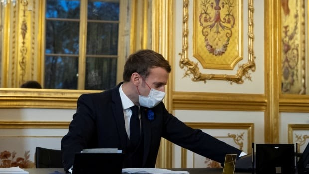French President Macron tests positive for COVID-19