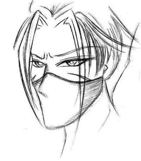 anime ninja drawings pencil sketch