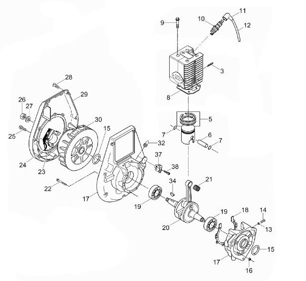 35 Wacker Pt3a Parts Diagram
