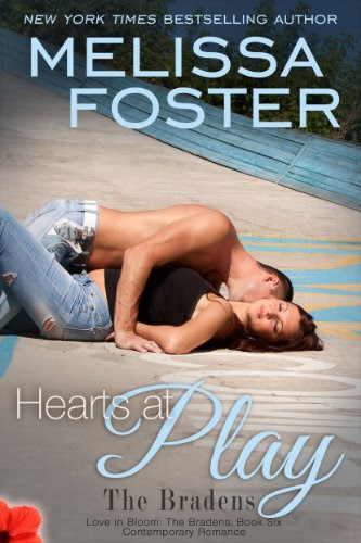 Hearts at Play (Love in Bloom: The Bradens, Book 6) Contemporary Romance by Melissa Foster