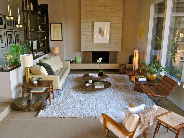 Santa Monica Mid Century - Modern - Living Room - los angeles - by ...
