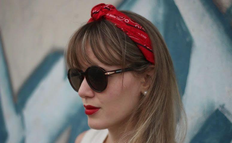 Resultado de imagem para como usar bandana no cabelo no dia a dia  2016