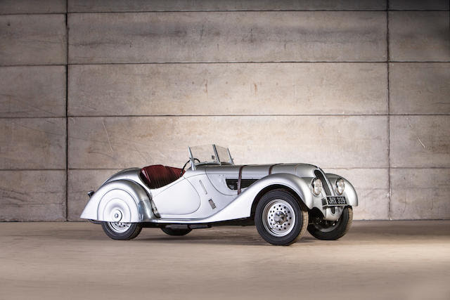 The ex-Billy Cotton,1938 Frazer Nash-BMW 328 Roadster  Chassis no. 85HF 260217 Engine no. 85HF 260217