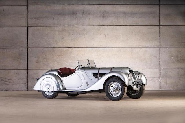 The ex-Billy Cotton,1938 Frazer Nash-BMW 328 Roadster  Chassis no. 85HF 260217 Engine no. 85HF 260217