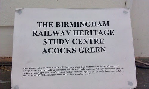 Birmingham Railway Heritage Studies Centre