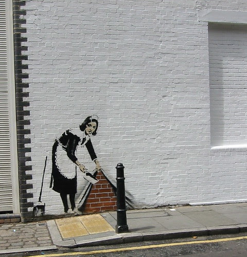 Banksy near Old St.