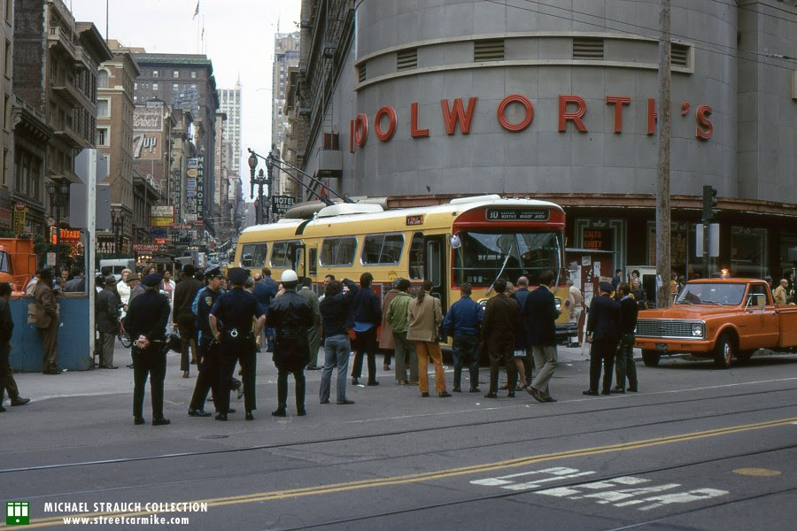 Image result for San Francisco in 1976 Woolworths