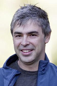 Larry Page, el pasado año. | AP