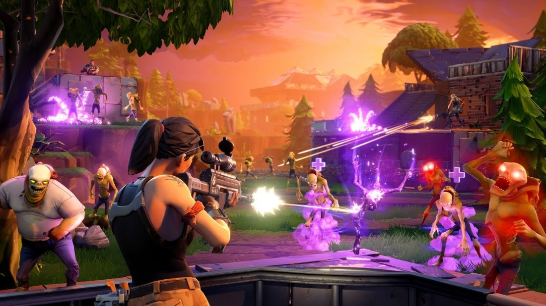 Fortnite Im Early Access Test Update Fur Nintendo Switch Version -