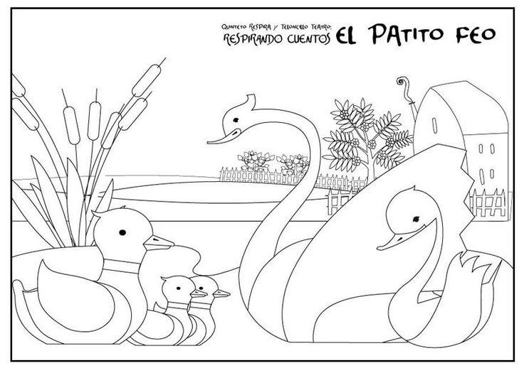 Dibujos Para Colorear De Disney Channel De Patito Feo Dibujos Para