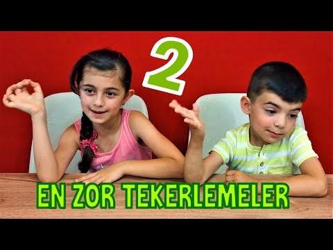 Tekerleme Oyunu 2 - Türkçedeki söylenmesi en zor tekerlemelere devam