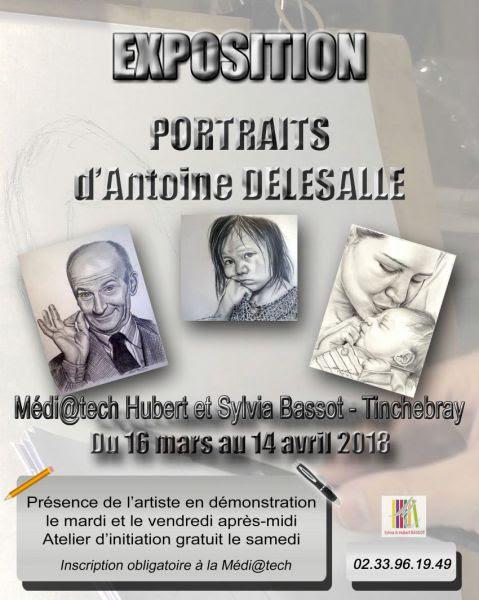 Exposition Antoine Delesalle Tinchebray