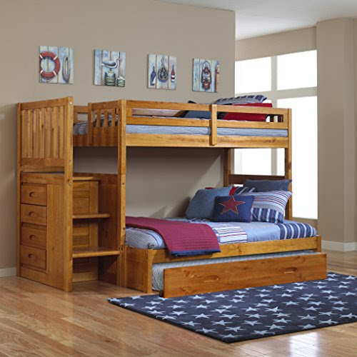 Funky Bunk Bed with Stairs  Save Space  Increase the Fun : Funk This House
