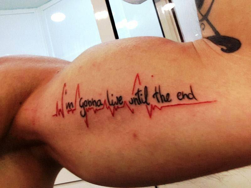 Frase En Biceps Kustom Skin Tattoo Tatuajes Logroño