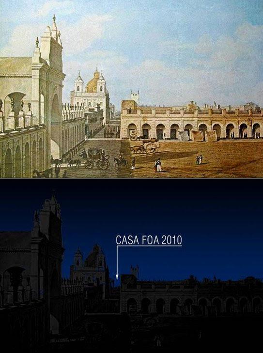 Casa FOA 2010, La Defensa, Espacio Nº 1 Fachada 200 años - Arturo Peruzzotti, decoracion, arquitectura