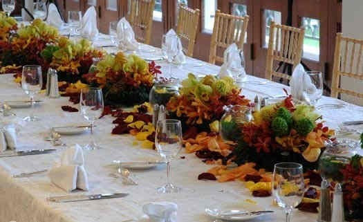 Fall Wedding Reception Centerpieces Share