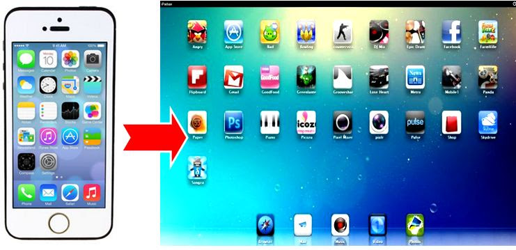 برنامج تشغيل تطبيقات الايباد والآيفون على الكمبيوتر ipadian 2018