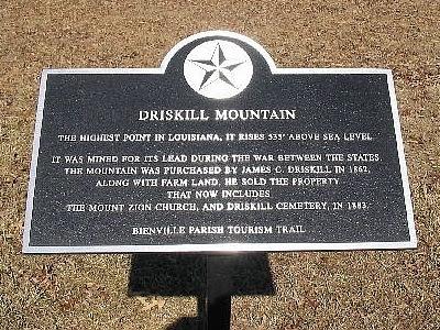 Driskill Mountain 535 Louisiana