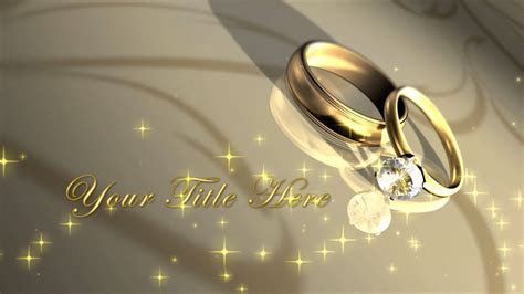 Wedding Essentials HD 1 Recipe: Wedding Titles with Rings