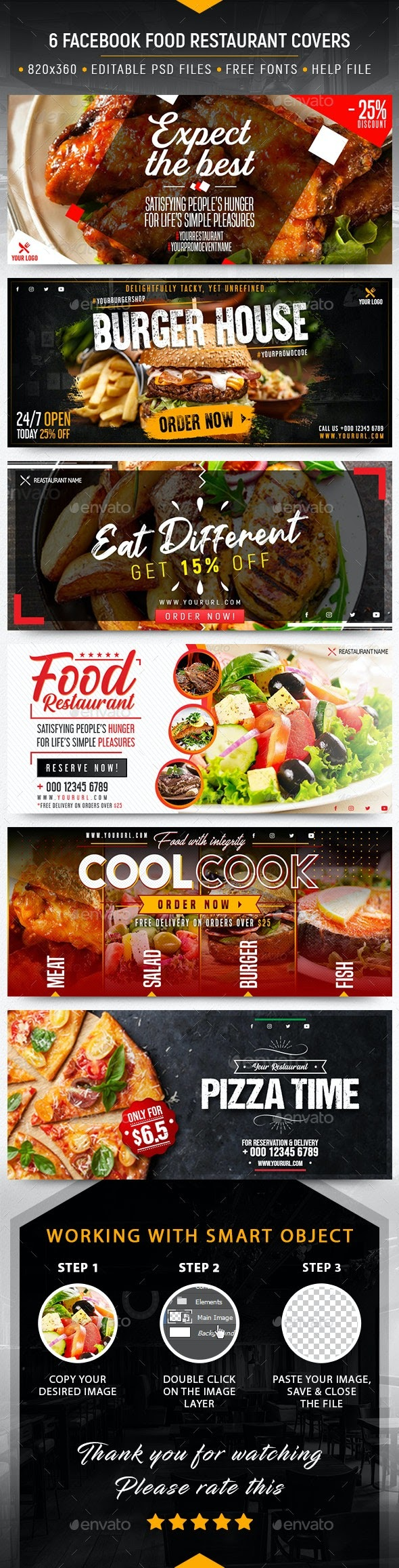Facebook Food Restaurant Covers 28297750