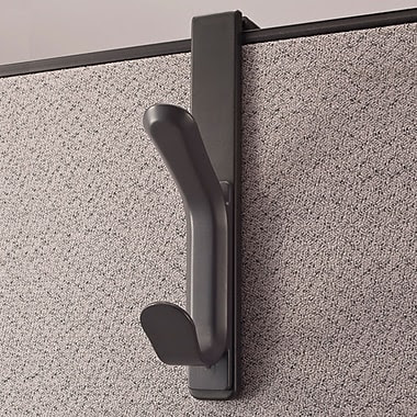 dps by Staples® Verti-Go™ Cubicle Accessories Double Coat Hook, 1
