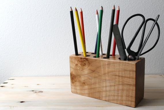 Modern Desk Organizer by The Design Pallet - modern - desk ...
