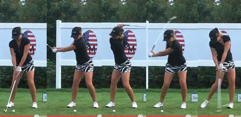 Sara Brown swing sequence