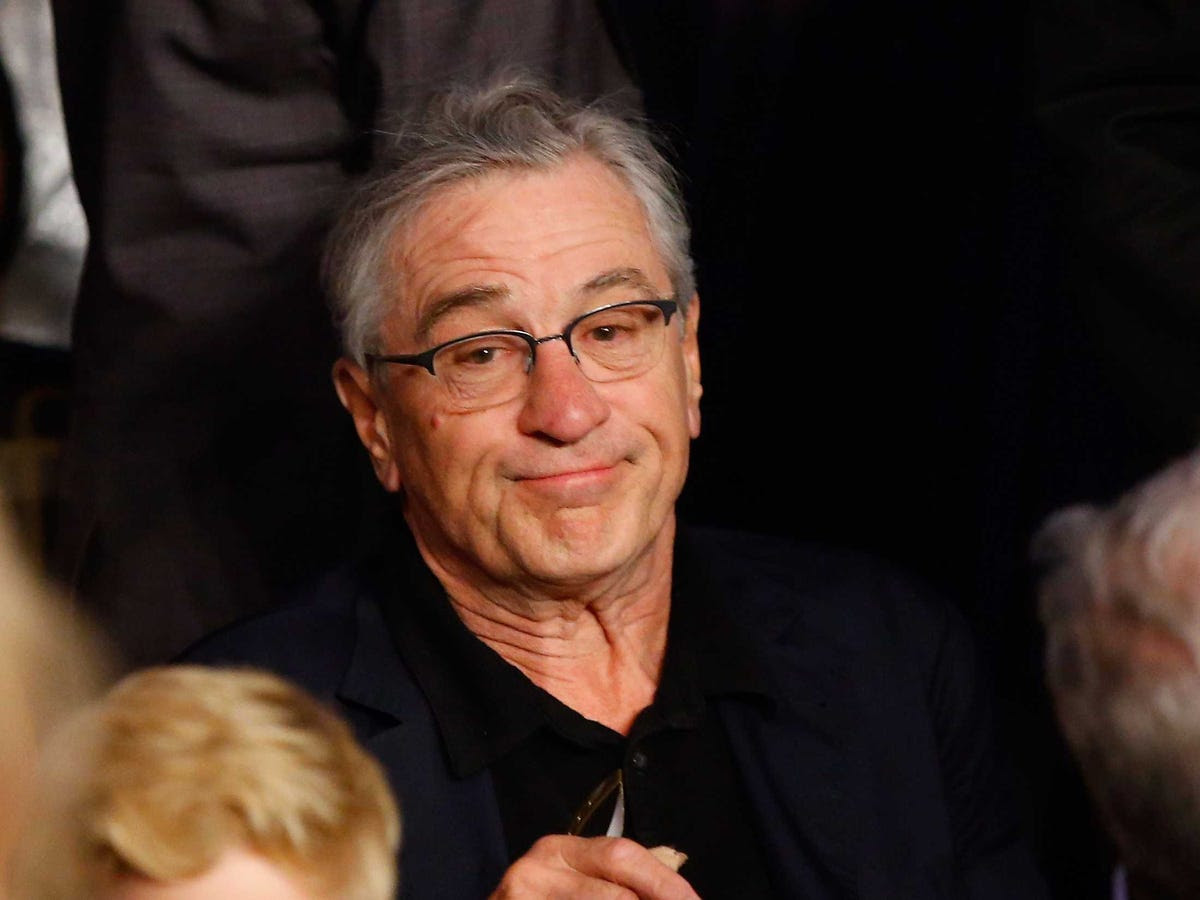 AGE 71: Robert De Niro