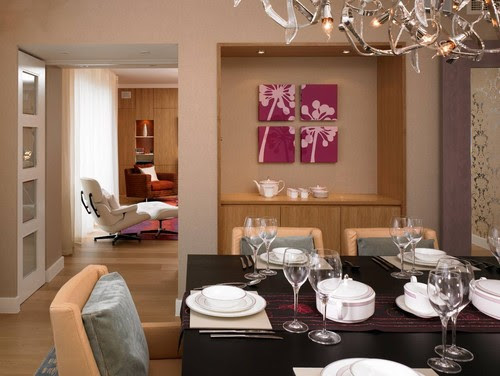 Gloucester Road Apartment modern dining room