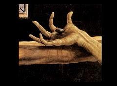 Jesus Hand & Nail- Detail of the Isenheim Alta...