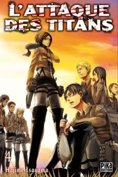Couverture L'attaque des Titans, tome 04