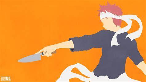 Shokugeki no Soma (Food Wars) Vector Art Wallpaper by