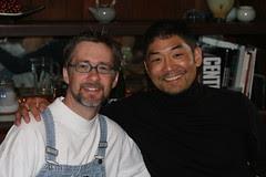David and Stan at Brunch, San Francisco