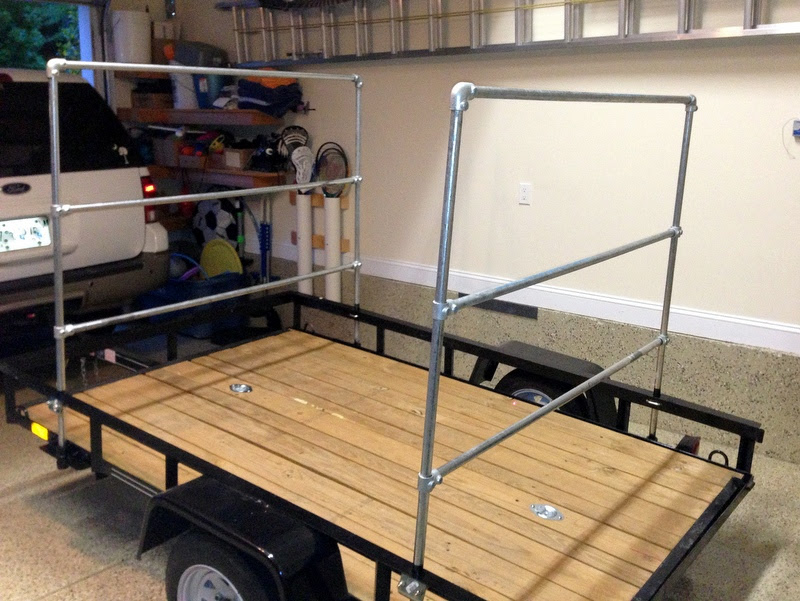 Here Diy Kayak Rack For Trailer Step Wilson