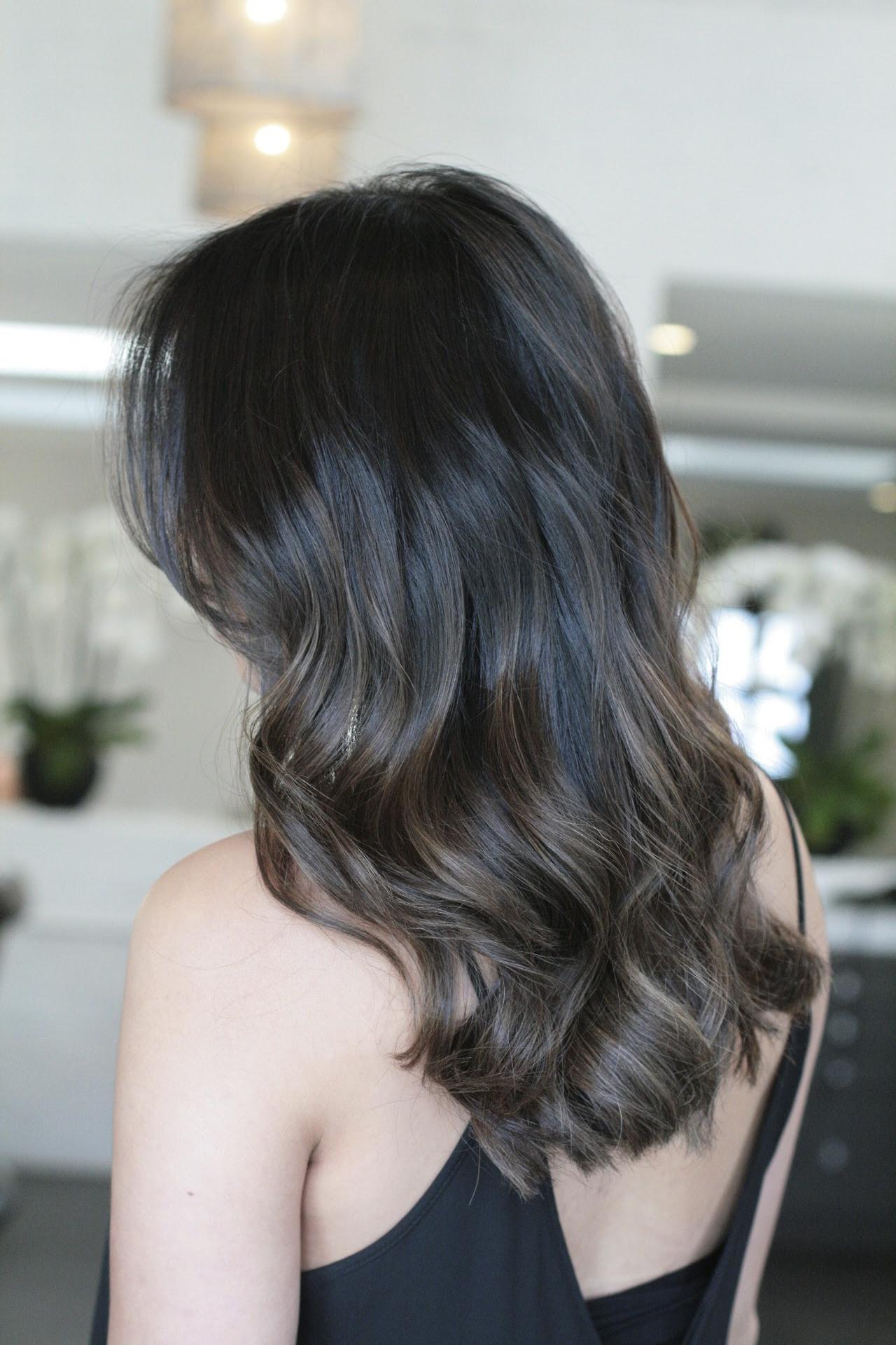 natural brunette highlights  JONATHAN  GEORGE Blog
