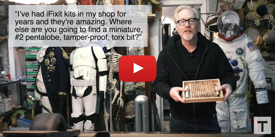Adam Savage and the UBK