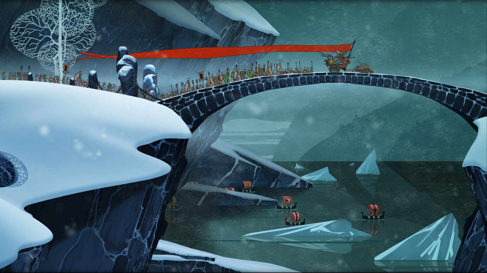 Banner Saga Vita port finally canceled screenshot