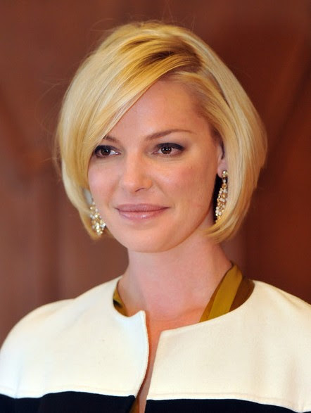Bob Hairstyle With Side Swept Bangs Popular Hairstyles 2014 Getty