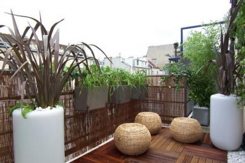 Sichtschutz FÜr Balkon Selber Machen | Deneme Amaçlı Bambus Balkon Sichtschutz Ideen