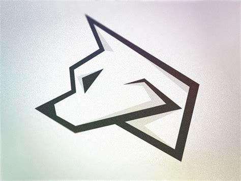 wolf logo wip wolves simple logos  logos
